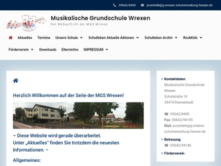 Vorschaubild der Webseite von Grundschule Wrexen