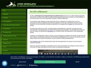 Vorschaubild der Webseite von Eis- und Rollsportverein Bürgerweide Bremen e.V. ERBB