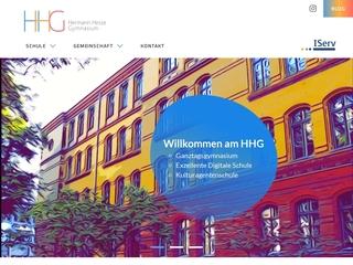 Vorschaubild der Webseite von Hermann-Hesse-Gymnasium