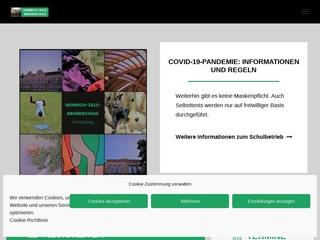 Vorschaubild der Webseite von Heinrich-Zille-Grundschule