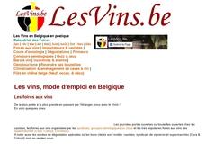Les vins en pratique en Belgique