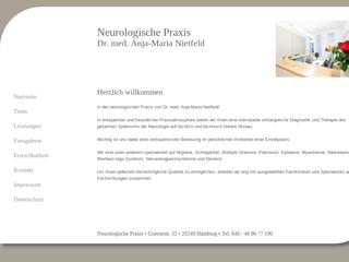 Vorschaubild der Webseite Dr. Anna Maria Nietfeld, FA für Neurologie