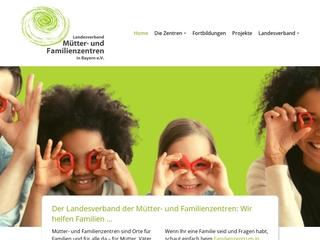 Vorschaubild der Webseite von Landesverband Mütter- und Familienzentren in Bayern e.V.