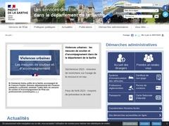 La préfecture de la Sarthe
