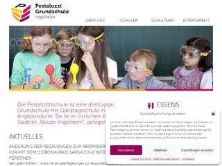 Vorschaubild der Webseite von Grundschule Ingelheim Pestalozzi