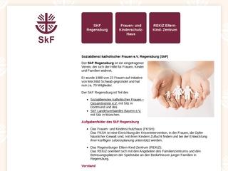 Vorschaubild der Webseite von Kinderkrippe REKIZ