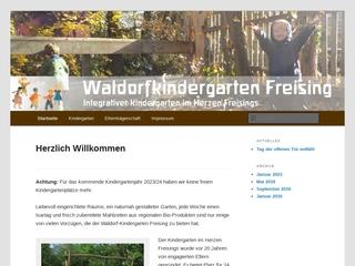 Vorschaubild der Webseite von Waldorf-Kindergarten