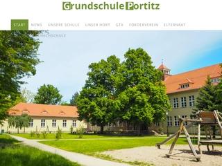 Vorschaubild der Webseite von Portitzer Grundschule