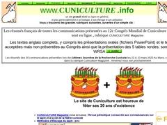 www.CUNICULTURE .info