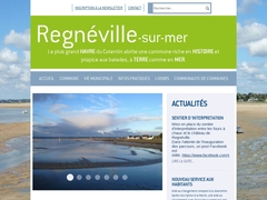 Regnéville-sur-Mer site officiel de la commune
