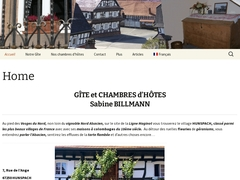 Gîte et chambres d'hôtes Billmann 67250 Hunspach
