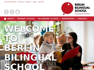 Vorschaubild der Webseite von Berlin Bilingual School
