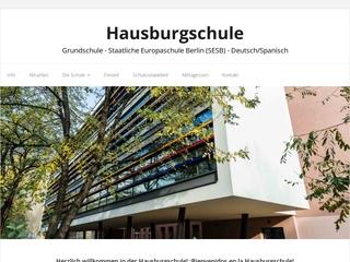 Vorschaubild der Webseite von Hausburg-Grundschule