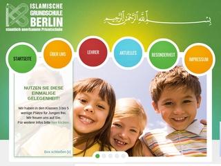 Vorschaubild der Webseite von Islamische Grundschule