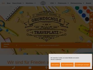 Vorschaubild der Webseite von Grundschule am Traveplatz