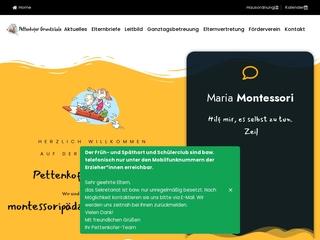 Vorschaubild der Webseite von Pettenkofer-Grundschule
