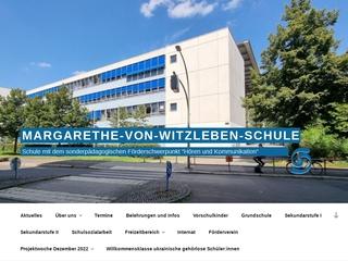 Vorschaubild der Webseite von Margarethe-von-Witzleben-Schule