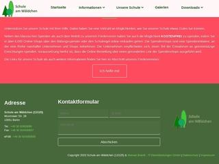 Vorschaubild der Webseite von Schule am Wäldchen