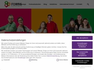Vorschaubild der Webseite von Berufsfachschule für Technik und Wirtschaft, Ergotherapie und Physiotherapie