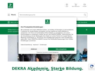 Vorschaubild der Webseite von DEKRA Medienakademie
