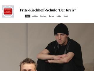 Vorschaubild der Webseite von Schauspielschule Der Kreis Fritz-Kirchhoff-Schule