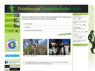 Vorschaubild der Webseite von Friedenauer Gemeinschaftsschule