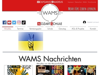 Vorschaubild der Webseite von Wolfgang-Amadeus-Mozart-Schule