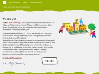 Vorschaubild der Webseite von Kangaroo Garden - Internationaler Kindergarten