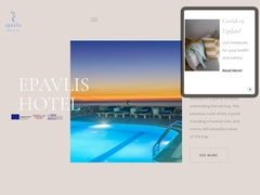 Epavlis - 4 * Hotel - Kamari - Santorini - Cyclades