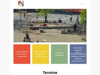 Vorschaubild der Webseite von Gemeinschaftsschule auf dem Campus Rütli