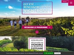 Maison du vins Blaye Côtes de Bordeaux