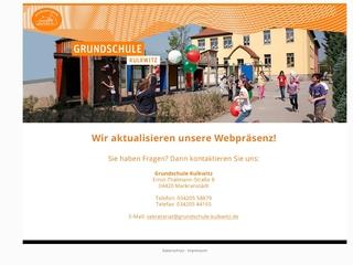 Vorschaubild der Webseite von Grundschule Kulkwitz