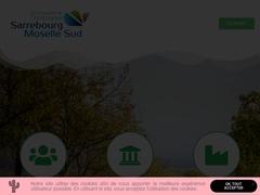 communauté de commume Sarrebourg moselle sud