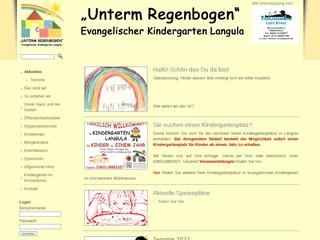 Vorschaubild der Webseite von Evang. Kindergarten Unterm Regenbogen