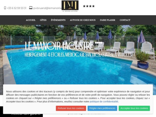 Le Manoir Lacustre 33 Queyrac Médoc