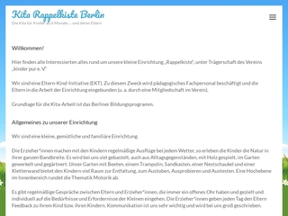 Vorschaubild der Webseite von Kindertagesstätte Rappelkiste