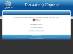 Gobierno Federal - CONACYT