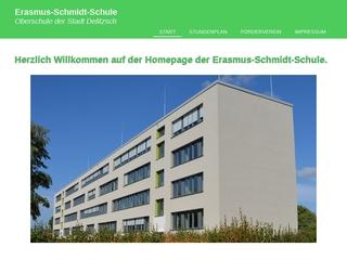 Vorschaubild der Webseite von Erasmus-Schmidt-Schule