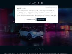 À la une - Alpine