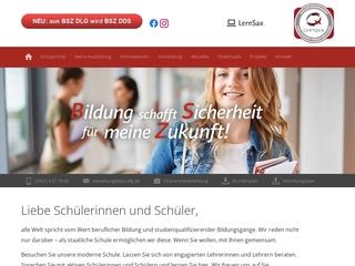Vorschaubild der Webseite von BSZ für Dienstleistung und Gestaltung