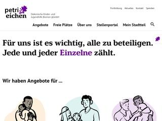 Vorschaubild der Webseite von Kinder- und Jugendwohngruppe Harmstraße