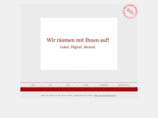 Vorschaubild der Webseite von Die Aufräumerinnen