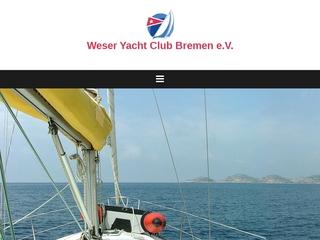 Vorschaubild der Webseite von Weser-Yacht-Club Bremen e.V. von 1892