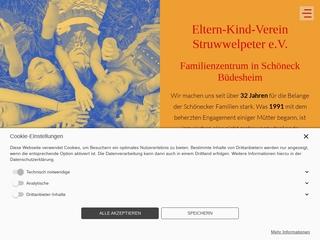 Vorschaubild der Webseite von Familienzentrum Eltern-Kind-Verein Struwwelpeter e.V.
