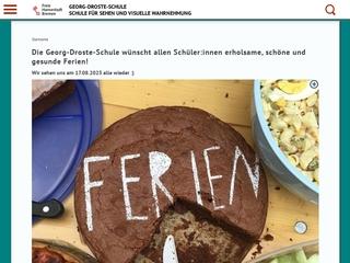 Vorschaubild der Webseite von Georg-Droste-Schule - Förderzentrum für Sehen und visuelle Wahrnehmung