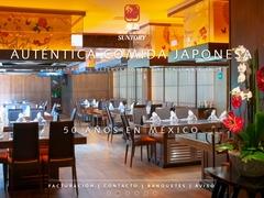 Restaurante Comida Oriental - Suntory Restaurantes