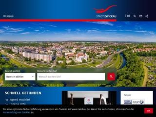 Vorschaubild der Webseite von Gleichstellungs- und Ausländerbeauftragte Zwickau