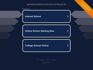 Vorschaubild der Webseite Gemeinschaftsschule am Nordpark Erfurt