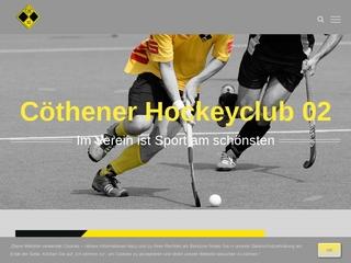 Vorschaubild der Webseite von Cöthener Hockeyclub 02 e.V.