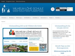 Vorschaubild der Webseite von Evang. kooperative Gesamtschule - Wilhelm-Löhe-Schule